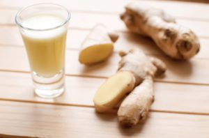 homemade ginger shots