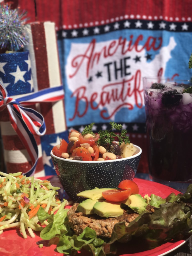 healthy memorial day spread