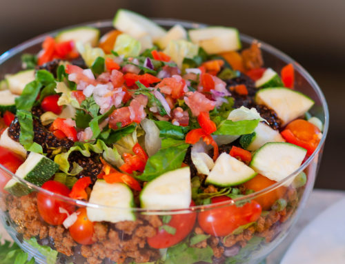No Shell Taco Salad – Easy and Healthy!