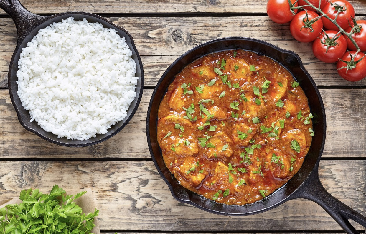 Homemade chicken curry healthy easy dinners