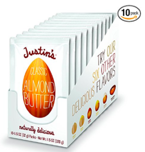 justins almond butter packets