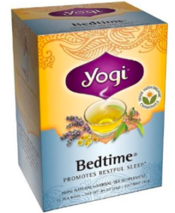 yogi bedtime tea better sleep