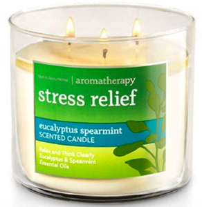 stress relief aromatherapy candle