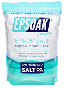 epsom salt bath stress relief