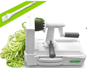spiralizer for healthy pasta